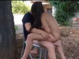 Horny Amateur Couple Having Sex Outdoor