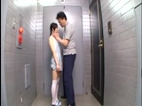 Small Tited Asian Girl Gave An Oral Satisfaction To Her Neighbor In The Hall Of The Building