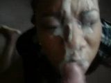 Messed Up Facial On Ebony Girl
