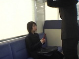 japanese Teen Gets Opportunity To Earn Some Extra Money With Blowjob In Subway