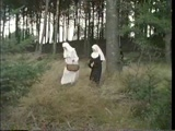Nuns Gets Fucked By A Priest In A Forest