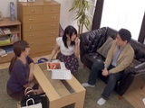 Japanese Girl Gets Fucked By Her Moms business Partner At Their Home