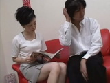 Japanese Mommy Caught Husbands Young Cousin Reading Porn Magazine