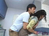 Japanese Boy Attack And Fuck Mature Asian Woman In Kitchen Uncensored