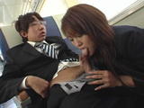 Inexperienced Boy Pay Japanese Hooker For First Sexual Experience In Train