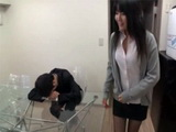 Japanese Wife Fucking Husbands Boss To Keep His Job