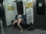 Sleeping Japanese Girl Abused In Train