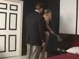 Pervert Daddy Surprised Teen Maid From Her Backs