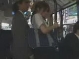 Japanese Teen Molested In Buss