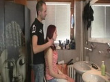 Teen Fucks Hairdresser and Gets Caught By Boyfriend