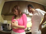 Busty Milf Housewife Violated in Kitchen
