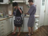 Mature Russian Mom Fucked In Kitchen By Boy