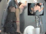 Spy Cam Tapes Teen Couple Fucking In Toilet