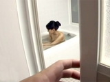 Perv Boy Should Not Be Spying On His Mother In Law Bathing