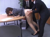 Japanese Office Lady In Pantyhose Abused By Coworkers