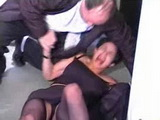 Old Taxi Driver Rapes Home Alone MILF