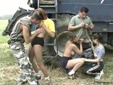 Russian Country Orgy