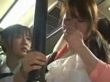 Mother and Daughter Groped and Fucked In Bus