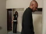 Spying Ebony Boss In Toilet Wasnt Good Idea