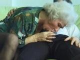 Greyhead Granny Fucks Young Guy