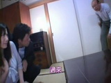 Japanese Wife Forced By Husband To Give Blowjob To Husbands Old Father