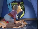 Blonde Teen And Older Guy Sex In Tent